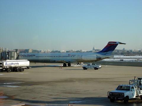 デルタ航空ナショナル空港