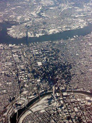 空からフィラデルフィア