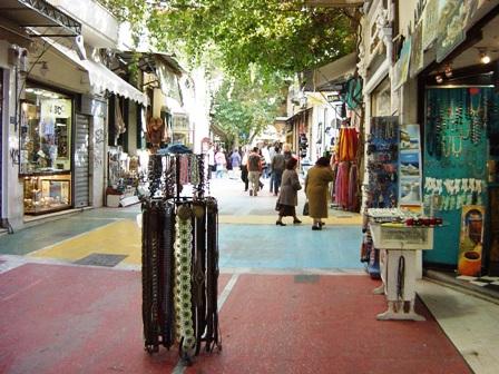 アテネのプラカ地区