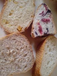 墨檜のパン断面