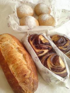 初訪問お祝いパン