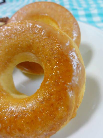 焼きドーナツ焦がし砂糖