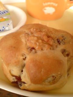 2008-03-25 くるみレーズンパン