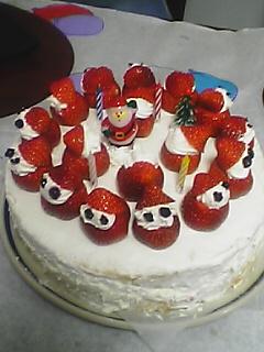 クリスマスケーキ.1