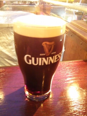ドラフトギネスビール1パイント