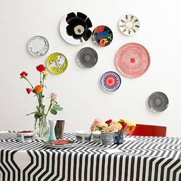 - Platos decorativos pared ...