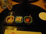島豆腐懐石 前菜