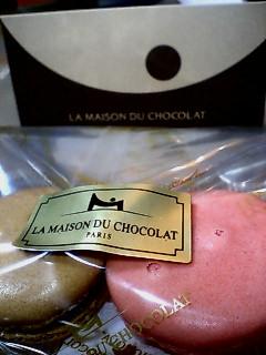 LE MAISON DU CHOCOLAT  マカロン