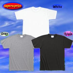 ●激安!100円台Tシャツ白.黒.グレーTシャツホワイト,ブラック,グレー,159円!体育祭,文化祭