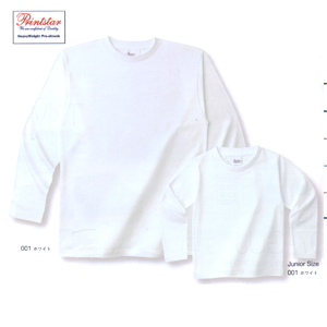 ●101-LVC Printstarヘビ—ウエイト長袖リブ無しカラ-シャツ 半額50%OFF!!