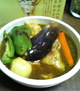本日のスープのスープカレー20070930