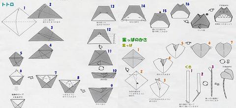 ハート 折り紙 折り紙トトロの作り方 : divulgando.net