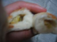 バナナ巻きパン