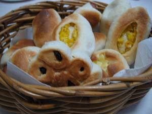 手作り調理パン