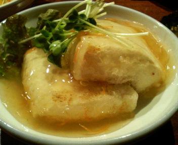 京風あんかけ豆腐