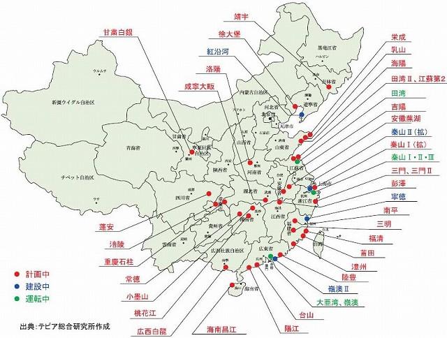 中国、韓国の原発事情3   �B