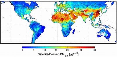 大気汚染マップ