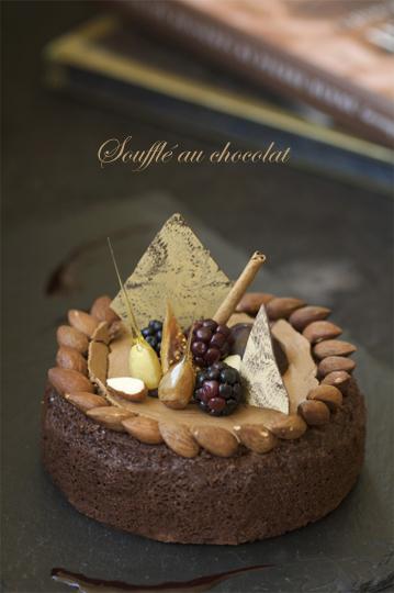 チョコレートスフレ1 .jpg