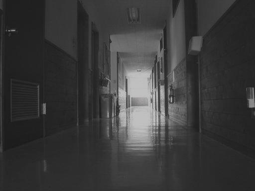 誰も居ない廊下.JPG