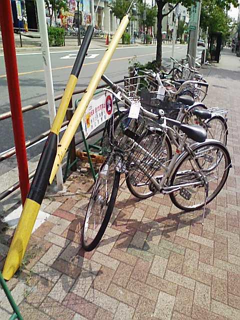 自転車の 放置自転車 警察 : 放置自転車は名古屋市と警察 ...