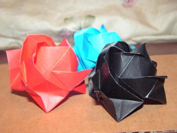 念願の川崎ローズ | メラニーも ... : 折り紙福山ローズ折り方 : すべての折り紙