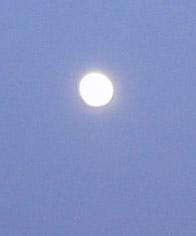 今日のお月さま