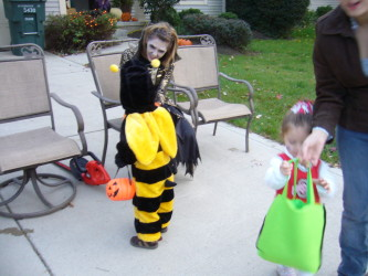 Trick or treat on 31