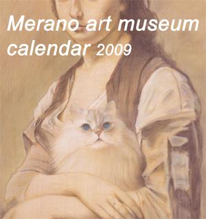 メラノ美術館カレンダー2009