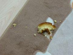 ドーナツの残骸