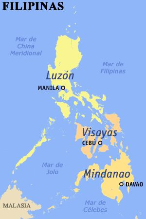 Philippine Map With Regions