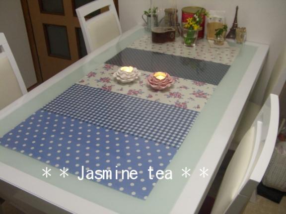テーブルマット Jasmine Tea 楽天ブログ