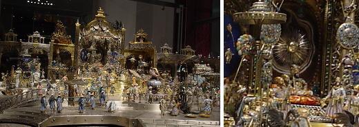 ドイツ・ドレスデン(4) 豪胆王の宝物庫・緑の丸天井