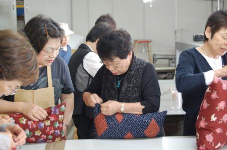 京座布団手づくり体験