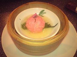 もち米団子の桜風味.JPG