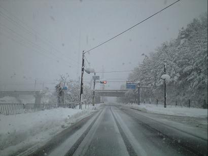 除雪したて!.JPG