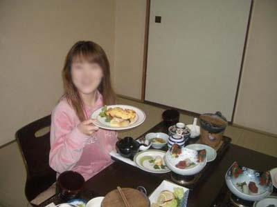 山渓苑 夕食