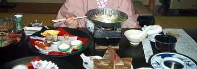 登別 清水屋 夕食1