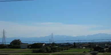 2005.10.23初冠雪をみた着たアルプス立山連邦