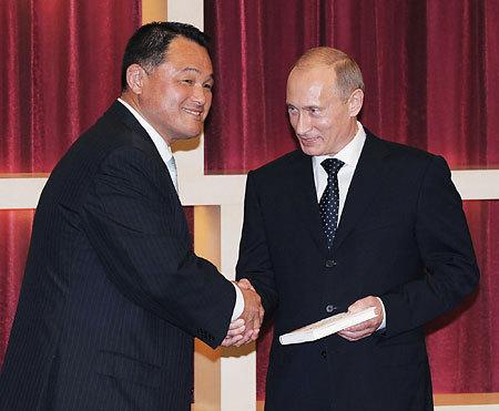 ヤマシタとプーチン