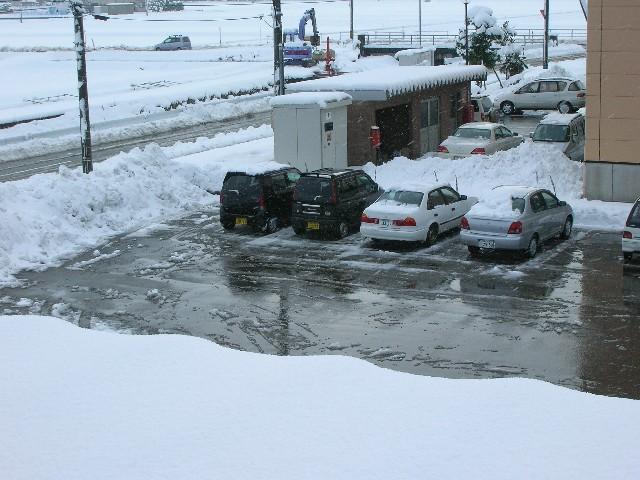 今シーズンは何回やることになるだろう・・・除雪。。。