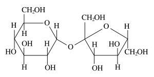 砂糖 化学式