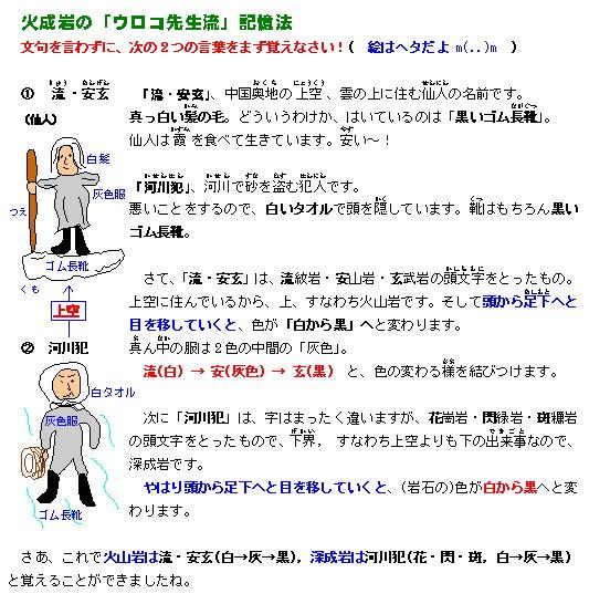火成岩・造岩鉱物 | 学びの泉 ~...