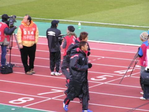 2006開幕ガンバ大阪VS浦和レッズ サブのアップ