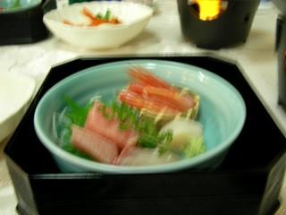 三ケ日温泉簡保の宿 夕食「実りの秋」のお造り