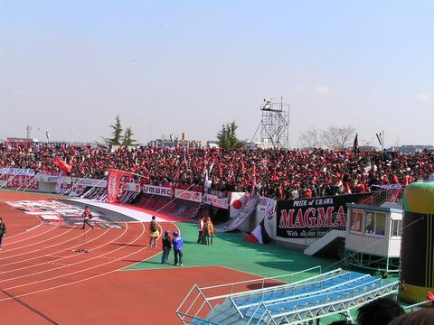 2006開幕ガンバ大阪VS浦和レッズ 万博競技場