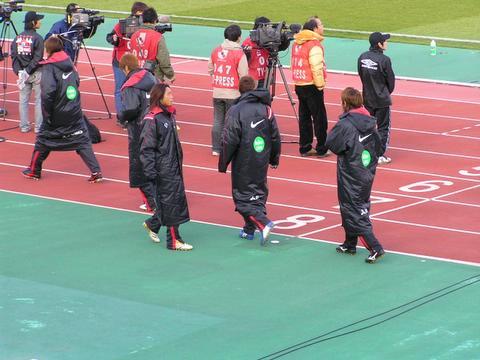 2006開幕ガンバ大阪VS浦和レッズ レッズ控え選手