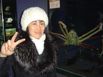 海遊館タカハシガニ