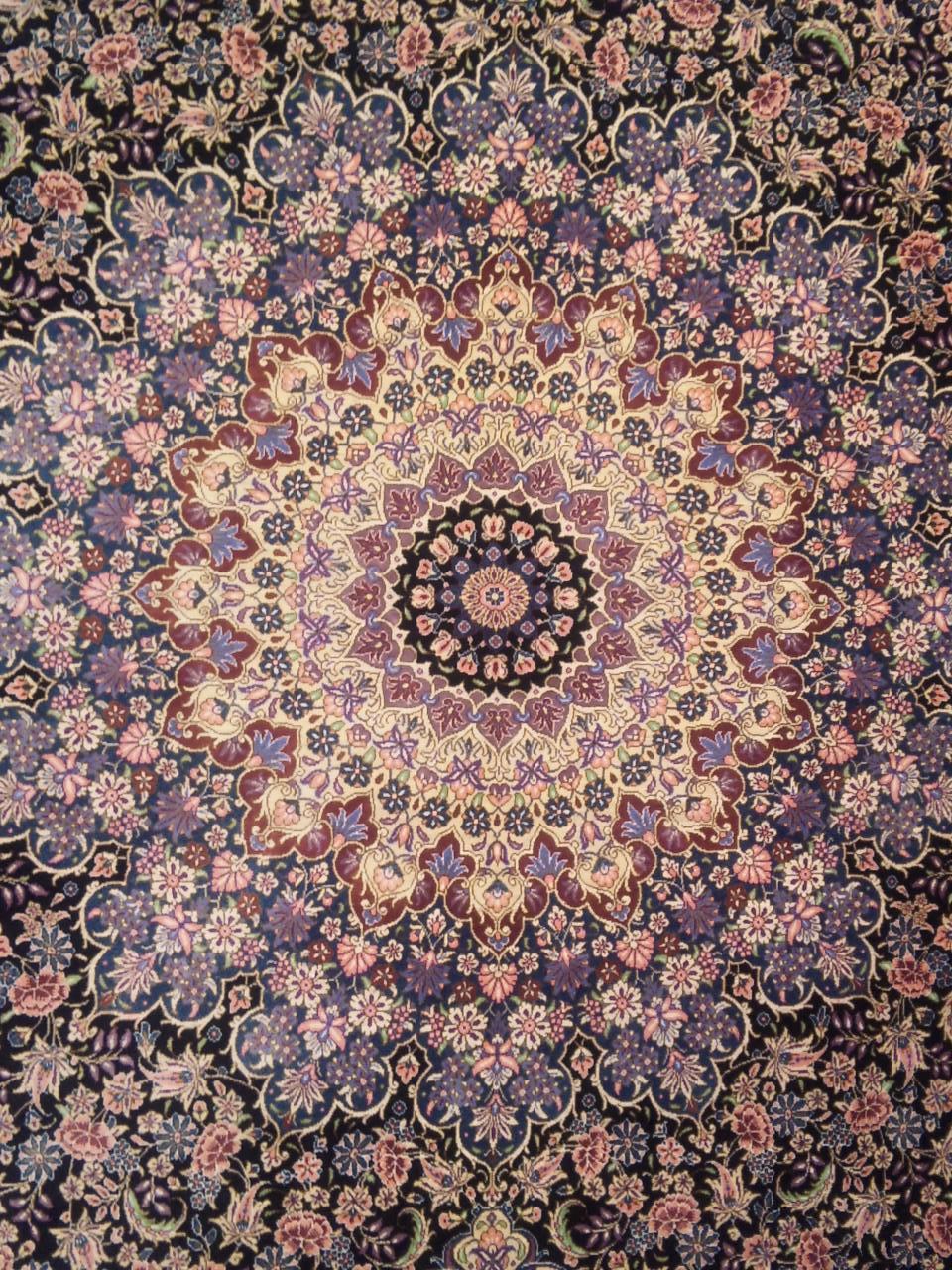 シルクの最高級ペルシャ絨毯 (クム☆ジェッティ工房) あたしの勝手にペルシャ絨毯生活 楽天ブログ