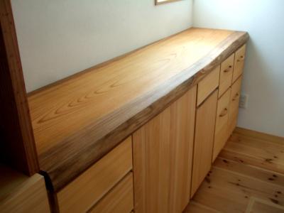 キッチンカウンター製作天板