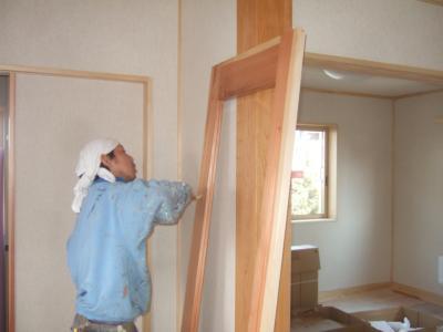 建具自然塗装